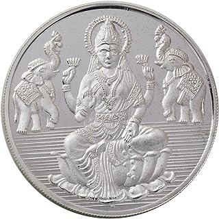 Bangalore Refinery 999 Purity Silver Coin Lakshmi 100 Gram