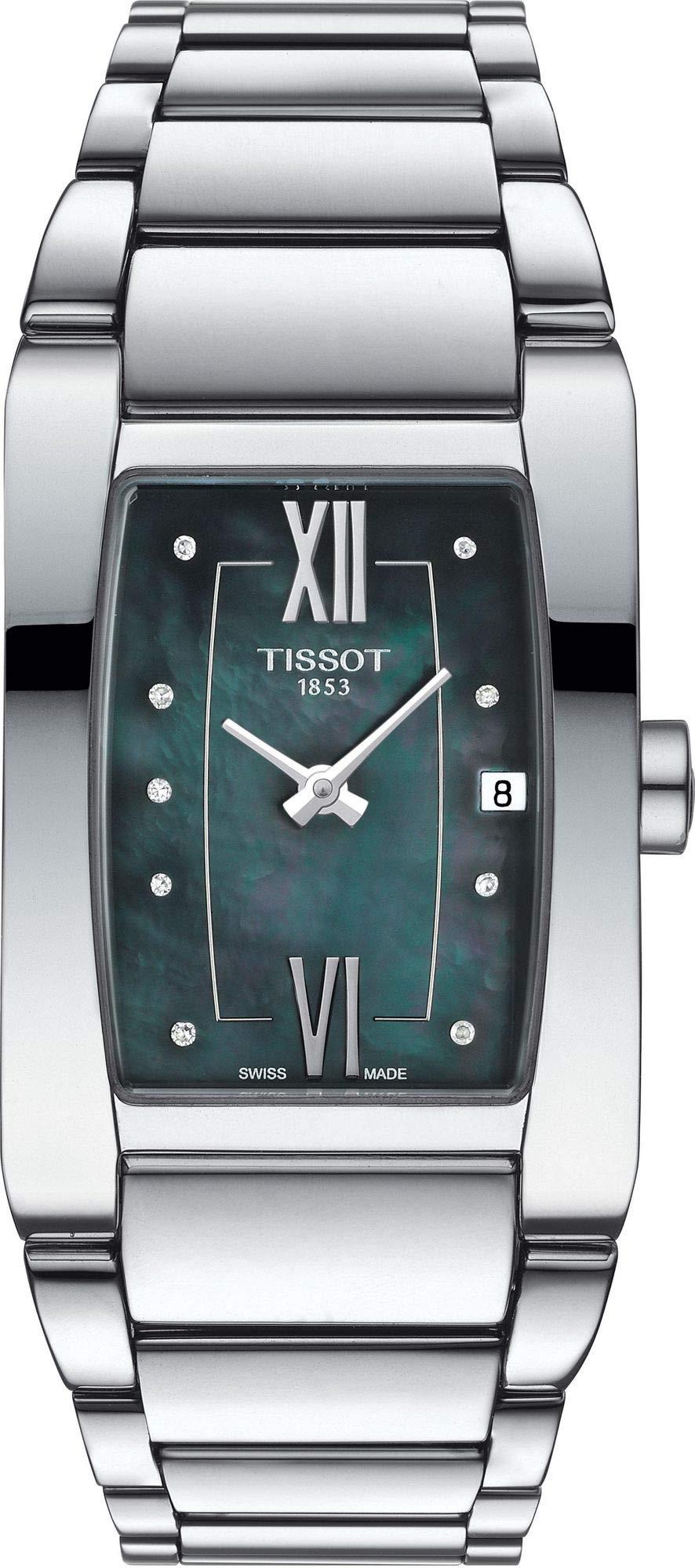 Tissot Stock Reloj Analógico para Mujer de Cuarzo con Correa en Acero