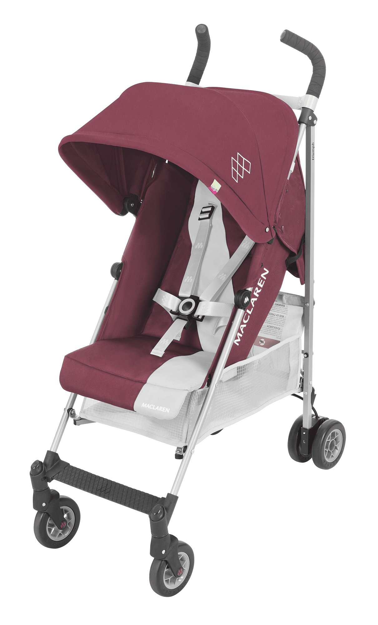 Maclaren Triumph Stroller - lightweight, compact Maclaren Basic weight of 5kg/ 11lb; ideal for children 6 months and up to 25kg/55lb Maclaren is the only brand to offer a sovereign lifetime warranty Extendable upf 50+ sun canopy and built-in sun visor 1