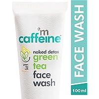 mCaffeine Naked Detox Green Tea Face Wash | Dirt Removal | Vitamin C, Hyaluronic Acid | All Skin | Paraben & SLS Free…