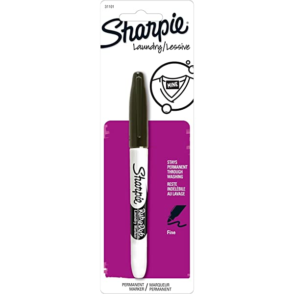 White Marker For Fabric Artline Permanent Deep Coloured Clothes Laundry Pen G...