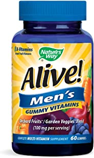 Alive Nature's Way Men's Gummy Vitamins 60's