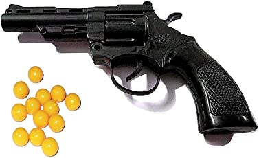 Plastic 8 Rounds with 40 Barrels High Grade Mini Toy with bb 6mm (Multicolour) - Pack of 2