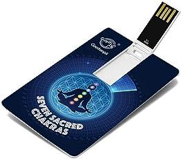Music Card: Seven Sacred Chakras - 320 Kbps Mp3 Audio (4 GB)
