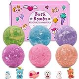 Linkax Bombe da Bagno, Bath Bomb,Fatto a Mano per bambini/donne/ragazze, Perle da Bagno Perfette Regali, Regali di San…