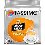 Tassimo Café Dosettes - 80 boissons Grand Mère Petit Déjeuner (lot de 5 x 16 boissons)