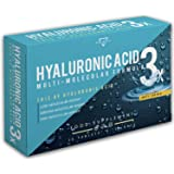 ACIDE HYALURONIQUE   Acide Hyaluronique Gelules   Formule multimoléculaire à haute dose avec acide hyaluronique de poids molé