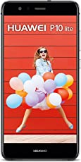 Huawei P10 Lite Dual-Sim Smartphone (13,2 cm (5,2 Zoll) Touch-Display, 32 GB interner Speicher, Android 7.0) Schwarz