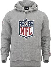 "New Era ""NFL Logo"" Hoodie - heather grey"