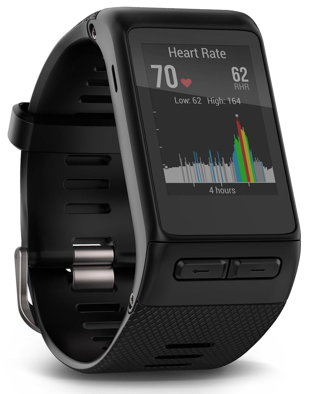 Garmin Vivoactive HR Regular Smartwatch con Cardio al Polso, Profili d'Attività Fisica, Cinturino Regular (M-L), Nero 2 spesavip