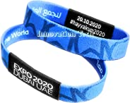 EXPO 2020 Dubai Blue wristband strap bracelet (light blue)
