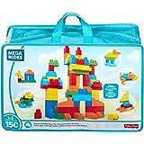 Mega Bloks Sac Construction Deluxe, 150 briques, jouet pour bébé et enfant de 1 à 5 ans, CNM43