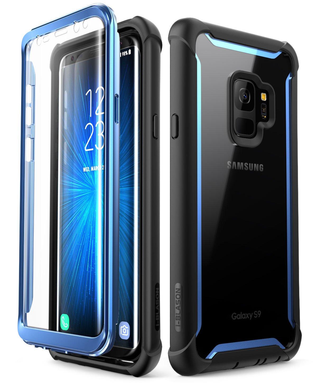 b265da40 Comprar Funda para Samsung Galaxy S9, i-Blason [Ares], Carcasa rígida  Transparente con Protector de Pantalla Integrado para Samsung Galaxy S9  2018 ...