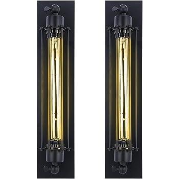 Homeny 2 x Retro Edison Gl/ühbirnen Klassik Edison Warmen Wei/ßen E27 25W T185 Gl/ühbirnen Nostalgische Gl/ühbirnen Industrielle Beleuchtung 40 Watt