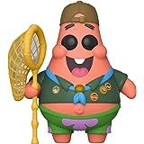 Funko Pop! Animation: Sponge Bob - Patrick in Camping Gear, Multicolor, Estándar