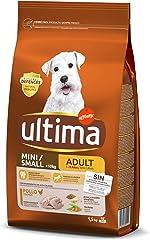 Ultima Pienso para Perros Mini Adultos con Pollo - 1.5 kg
