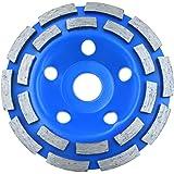 Corintian Diamant kopp hjul dubbel rad slipskiva 115, 125, 180 mm (125 mm)