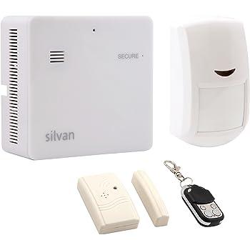 Silvan Secure SS 1032-K1 Home Security Starter Kit (White)