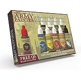 The Army Painter | Warpaints Starter Paint Set | 10 Peintures Acryliques et 1 Pinceau Starter Brush pour Débutants en Peintur