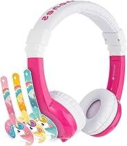 ONANOFF EX-FD-UNICORN Explore Foldable Volume Limiting Headphones For Kids - Pink