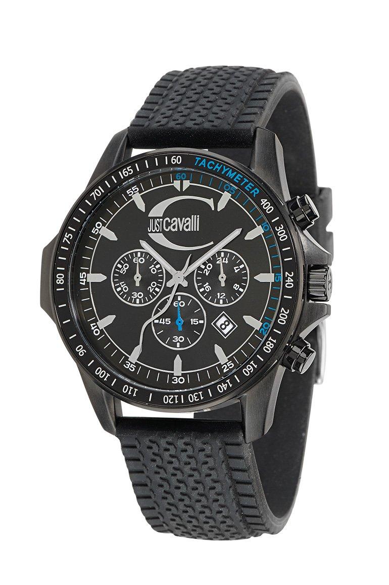 Just Cavalli R7271693025 – Reloj Unisex de Cuarzo, Correa de Silicona