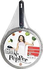 Home Salt N'Pepper Girafrittata in Alluminio, Rivestimento Antiaderente, 28 cm