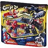 Heroes of Goo JIT Zu - Pack Superhéros Marvel - Spider-Man VS Venom