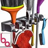 حامل للمكنسة اليدوية ومنظم ادوات الحديقة من بيري ايف لمقابض المجرفة او الممسحة حتى 1.25 بوصة