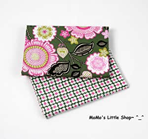 customer order : Fabric coffee cup holder with floral fabrics