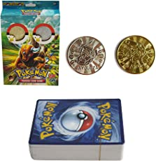 Kiditos Pokemon TCG EX GX with Gold & Silver Coin