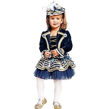 COSTUME di CARNEVALE da MARINARETTA NEONATA vestito per neonata bambina 0-3  Anni travestimento veneziano halloween cosplay festa party 50774 Taglia 1 c09aa7c1dd05