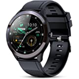 GOKOO Reloj Inteligente Hombres Smartwatch IP68 Impermeable Monitor de Actividad Pulsómetro Spo2 Recordatorio de SMS Reloj de