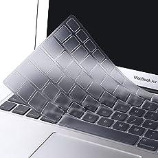 OJOS (TM) Ultra Thin Clear Soft TPU Keyboard Cover Skin for MacBook Air 13 13.3 Inch (Clear)