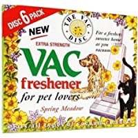 FIND A SPARE 1X Pack Vac 6 Fresheners Spring Meadow Extra Strength Powerful Scent For All Vacuum Hoover Handheld Bagless…