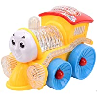 Vivir Funny Locomotive Engine Bump and Go Action Train Toys for Kids ( Toys for 2 Year Old Boy and Girl )