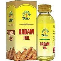 Dabur Badam Tail : Sweet Almond Oil | Rich in Vitamin -E for Healthy Skin , Hair and Body - 100ml
