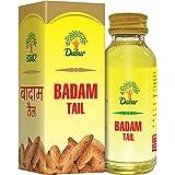 Dabur Badam Tail : SweetAlmond Oil | Rich in Vitamin -E for Healthy Skin , Hair and Body - 100ml