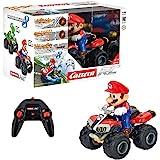 Carrera- 2,4GHz Mario Kart Mach 8, Luigi Coche de Juquete con ...