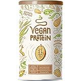 Proteine Vegane | CIOCCOLATO | Proteine vegetali di riso e piselli germogliati, semi di lino, amaranto, semi di girasole, sem