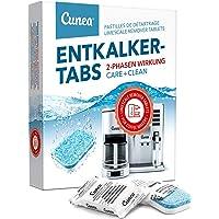 Cunea Tablettes détartrantes pour machines à café et bouilloire 12 x 2 phases