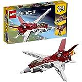 LEGO Creator AereoFuturistico, Set da Costruzione Astronave e Robot3in1,Giocattoli per Bambini dai 7 Anni in su, 31086