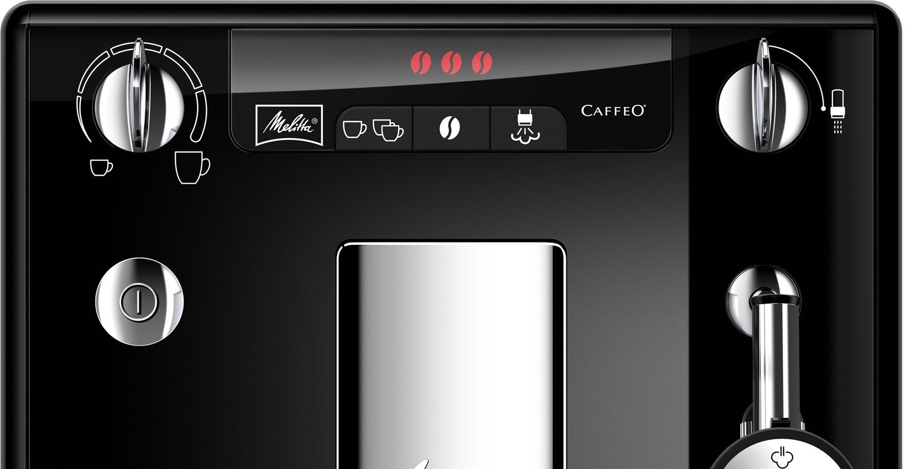 Melitta-Caffeo-Solo-Perfect-Milk-Schlanker-Kaffeevollautomat-mit-Auto-Cappuccinatore
