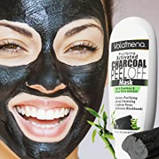 Volamena Purifying Activated Charcoal Peel Off Mask With Bamboo & Aloe Vera Extract 120 ml