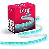 Innr Flex Light Color, 2m Smart LED-Strip, compatibel met Philips Hue* (bridge vereist) en Amazon Echo Plus, dimbaar, RGBW, F