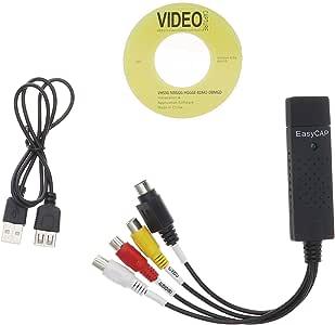 EasyCap USB 2,0 TV Video Audio VHS to DVD Converter Capture Card Adapter