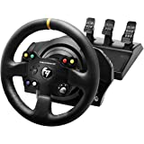 Thrustmaster TX Racing Wheel Leather Edition, Volante e Pedali, Xbox Serie X|S, Force Feedback, Motore Brushless, Doppia Cing