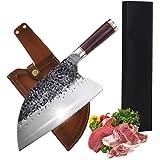 Promithi Couteau de chef forgé à la main