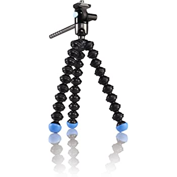 Joby GorillaPod Video Tripod for Mini and Pocket Camcorders - Blue and Black