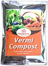 Casa De Orgainca Vermicompost Enriched with Neem Seed Powder and Beneficial Microbes (Organic and Pure, 1 Kg)