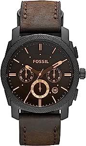Fossil Orologio Uomo con Cinturino in Acciaio Inossidabile FS4656